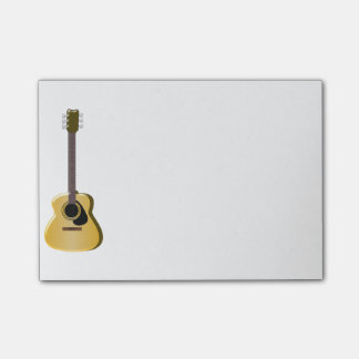 Acoustic Guitar Post-it® Notes