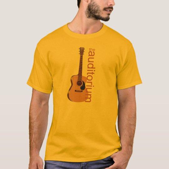"""Acoustic Guitar """"The Auditorium T-Shirt"""