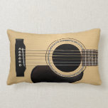 Acoustic Guitar Throw Pillows