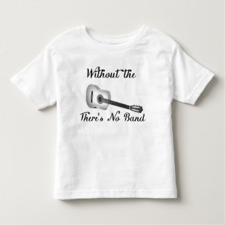 Acoustic Guitar Toddler Fine Jersey Tee