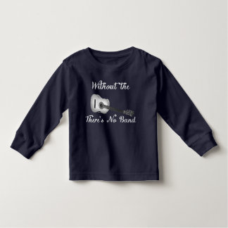 Acoustic Guitar Toddler Long Sleeve Dark Tee