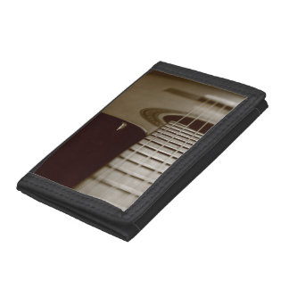 Acoustic Guitar Tri-fold Wallets
