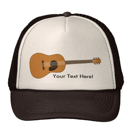 Acoustic Guitar Trucker Hat