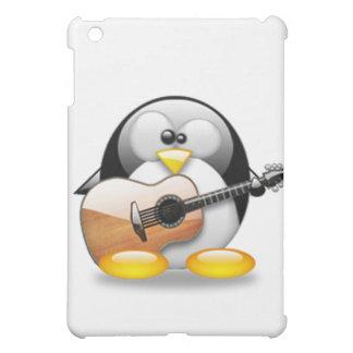Acoustic Guitar Tux (Linux Tux) iPad Mini Cases