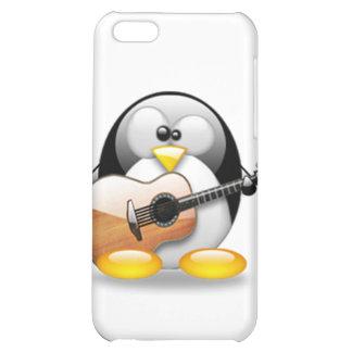 Acoustic Guitar Tux (Linux Tux) Case For iPhone 5C