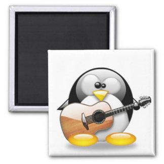 Acoustic Guitar Tux (Linux Tux) Magnet