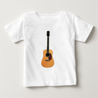 Acoustic Guitar vertical Baby T-Shirt
