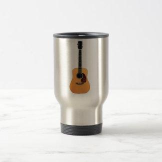 Acoustic Guitar vertical Travel Mug