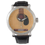 Acoustic Guitar Watch at Zazzle