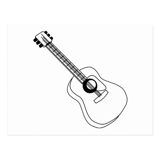 Guitar Black And White...