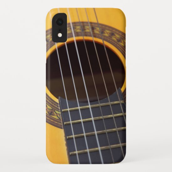 Acoustic Guitar with the six string iPhone XR Case