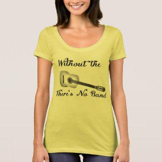 Acoustic Guitar Women's American Apparel Poly-Cott T-Shirt