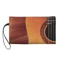 Acoustic Guitar Wristlet Clutch