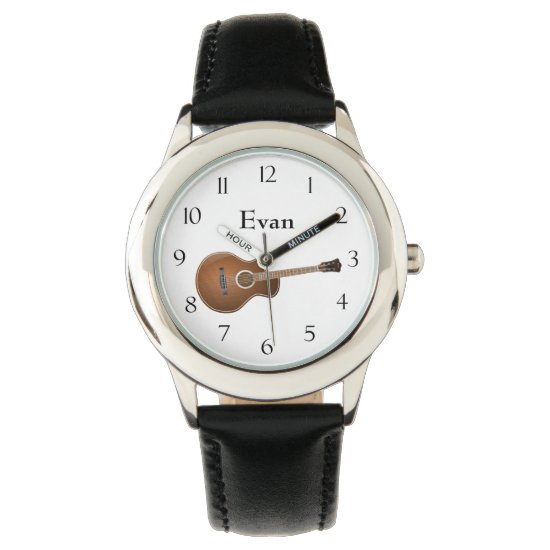 Acoustic Guitar Wristwatch