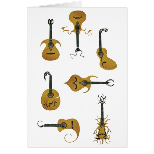 Acoustic Guitars Card