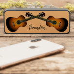 "Acoustic Guitars Design Evrybox Bluetooth Speaker<br><div class=""desc"">Acoustic Guitars Design Evrybox Bluetooth Speaker with customizable text and background color..</div>"
