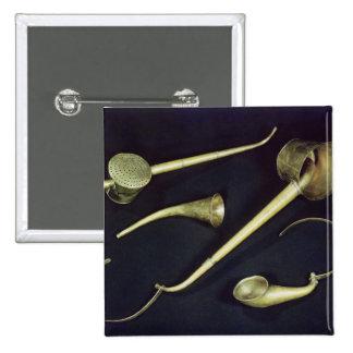 Acoustic instruments cornets pinback button