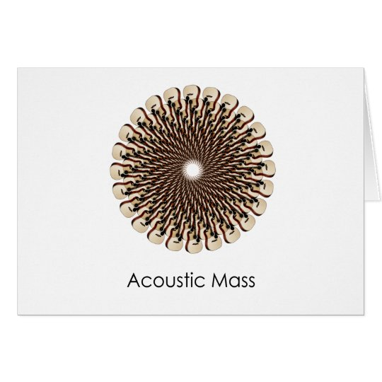 Acoustic Mass Card