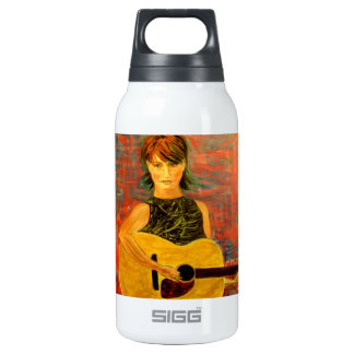 acoustic rock drip painting SIGG thermo 0.3L insulated bottle