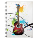 Acoustic Splash Notebook