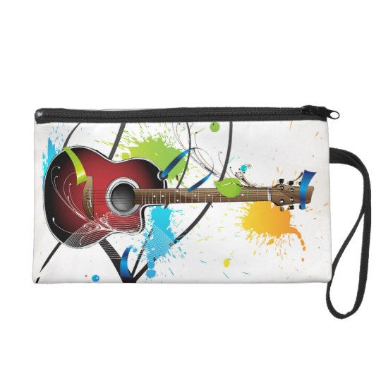 Acoustic Splash Wristlet