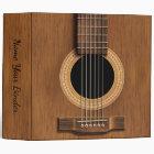 Acoustic Steel String Guitar Music Binder