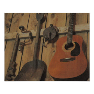 Acoustic Tool Set Poster
