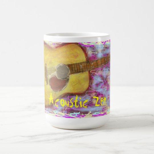 Acoustic Zen Guitar Coffee Mug