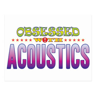 Acoustics 2 Obsessed Postcard