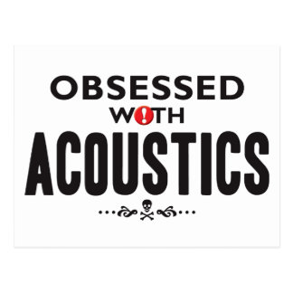 Acoustics Obsessed Postcard