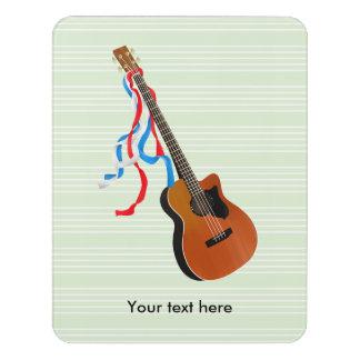 Acoutic Bass Guitar Door Sign