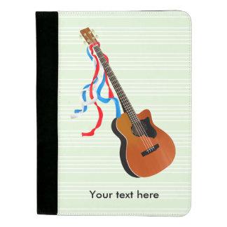 Acoutic Bass Guitar Padfolio