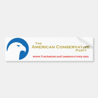 ACP Bumper Sticker