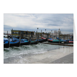 Acqua Alta in Venice Card