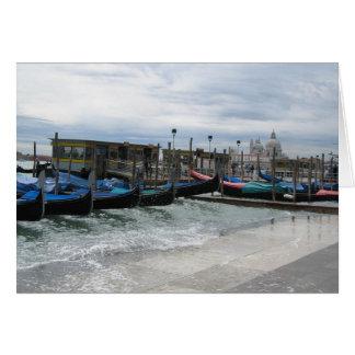 Acqua Alta in Venice Cards