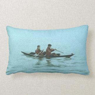 Acqua Alta Throw Pillow