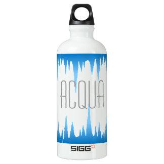 """""""Acqua"""" in ItalianTranslation for water Water Bottle"""