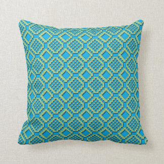 Acqua Pixel Pillow