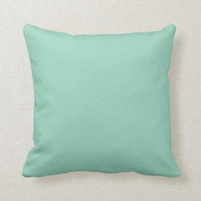 acquamarine pillow