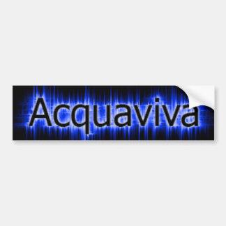 acquaviva Bumper Sticker