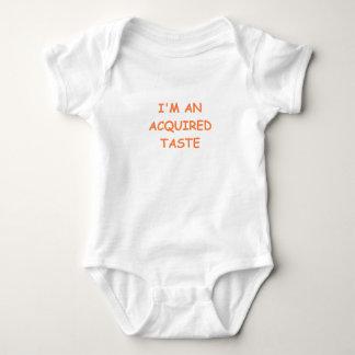 acquired taste baby bodysuit