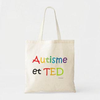 Acr-en-ciel de Autisme TED del saco Bolsa