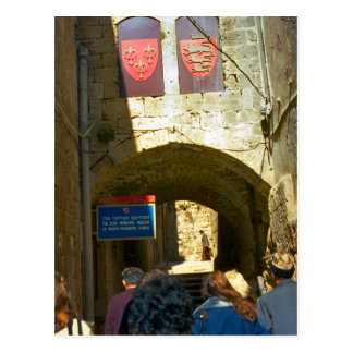 Acra, or Acre crusader city Postcard