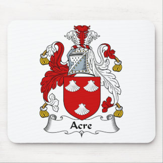 Acre Ancient Family Coat of Arms Crest Mouse Pad