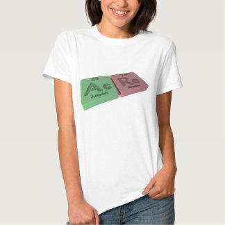 Acre as Ac Actinium and Re Rhenium T Shirt
