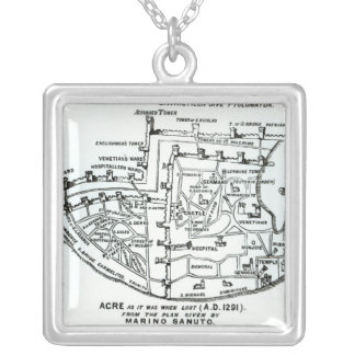 Acre as it was when lost silver plated necklace