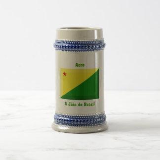Acre Flag Gem Beer Stein