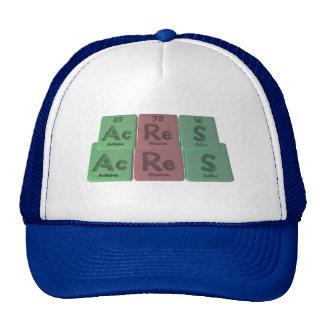 Acres-Ac-Re-S-Actinium-Rhenium-Sulfur Trucker Hat