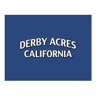 Acres CA de Derby Tarjetas Postales