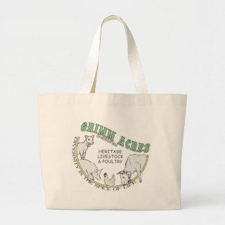 Acres de Grimm, logotipo diversificado Bolsas De Mano